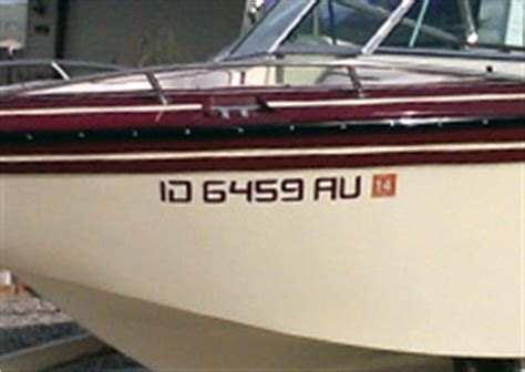 Idaho Boat Registration by Idaho Falls Boat Numbers Turner Sign Co