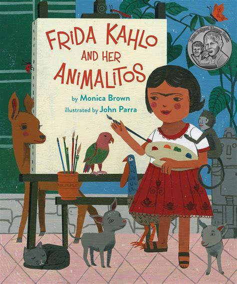 frida kahlo   animalitos book  monica brown