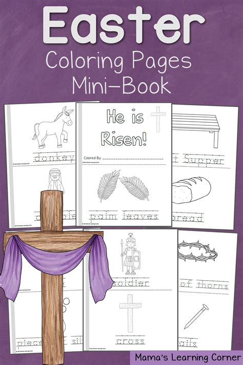 easter coloring pages mamas learning corner