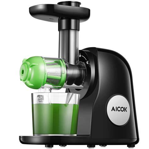 juicer masticating slow aicok amazon