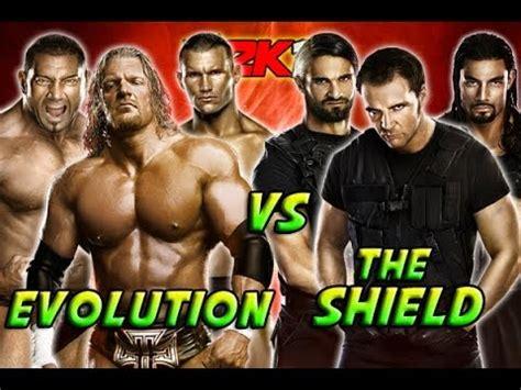 Evolution Vs The Shield - YouTube