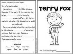 Terry Fox Run coloring page from Famous people category ...