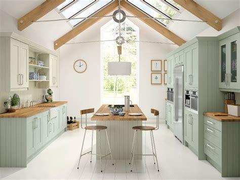 paint oak kitchen cabinets duck egg blue mussel homes blue 3951