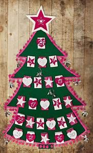 Adventskalender Holz Baum : bastelanleitung tannenbaum adventskalender buttinette ~ Watch28wear.com Haus und Dekorationen
