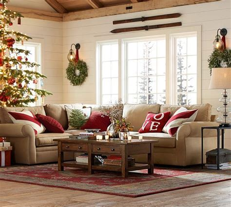 pottery barn christmas ideas  pinterest christmas decor  kitchen rustic holiday