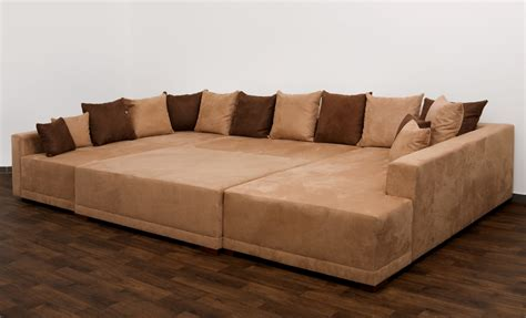 Wohnlandschaft Couch Big Sofa Couchgarnitur Ecksofa