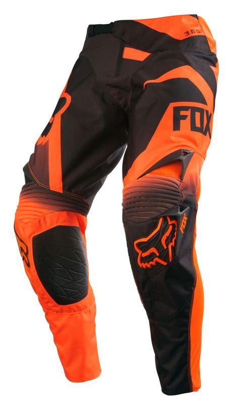 orange motocross gear fox racing new 2016 mx gear 360 shiv orange black ktm
