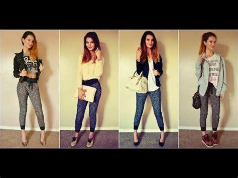How Style Jogger Pants Fashion Lookbook Youtube