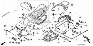 Honda Scooter 2007 Oem Parts Diagram For Seat