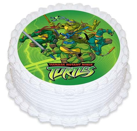 Turtle Decorations Nz by Mutant Turtle Edible Icing Cake Topper
