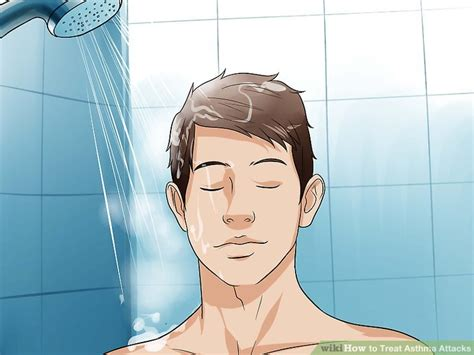 Shower For Asthma by 4 Ways To Treat Asthma Attacks Wikihow