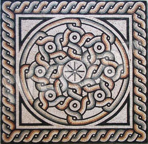 Mosaic Roman Pattern Ck019