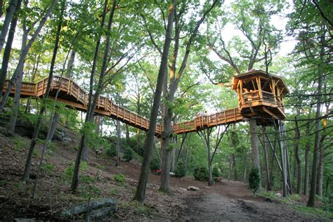 Cliff Treehouse  Stauffer Woodworking