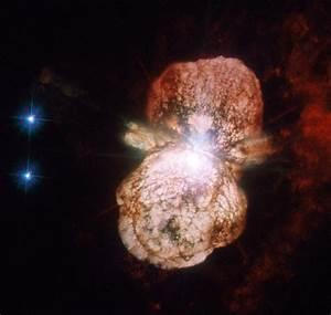 Hubble - Eta Carinae supernova preview - Relatively ...