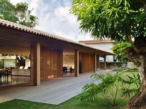 tropical home design  minimalist wooden house  ideas