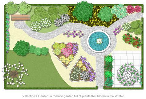 small blue printer garden garden planner garden plan