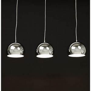 Lampe Suspendue Cuisine : une belle suspension 3 lumi res pour un effet tendance a ~ Edinachiropracticcenter.com Idées de Décoration