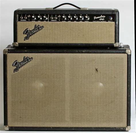 Fender 2x10 Guitar Cabinet by 1965 Fender Tremolux W 2x10 Cabinet Stardust Vintage