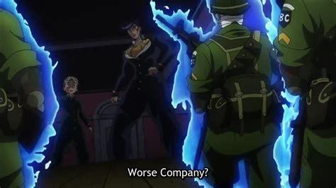 jojo anime episode 1 dub jojo no kimyou na bouken wa kudakenai episode 4