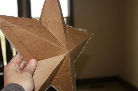 How To Make A Large 3d Star For Mantle If You Did The
