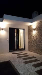 Eclairage Moderne : eclairage exterieur maison moderne ~ Farleysfitness.com Idées de Décoration