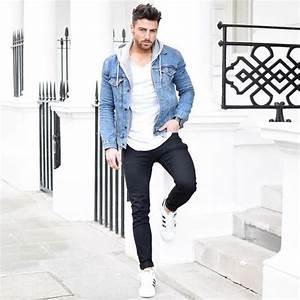 Style Classe Homme : look d contract avec un pull capuche homme tenue look men fashion fashionformen mode ~ Melissatoandfro.com Idées de Décoration