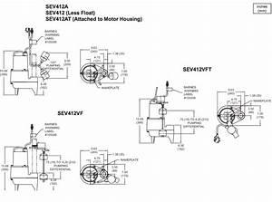 Barnes Sev Series Sewage Pumps Dimensions