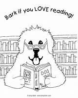 Coloring Bark Reading Amy Tails Sheet Bolin Dog Newfoundland Designlooter Vol sketch template