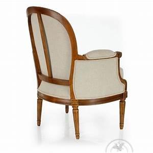 Fauteuil Ancien Bergere : fauteuil berg re louis xvi monceau saulaie ~ Teatrodelosmanantiales.com Idées de Décoration