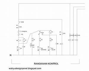 Rangkaian Panel Listrik  Kontrol  U0026 Utama   Rangkaian