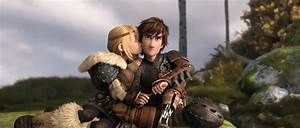astrid and hiccup kiss 2 by lupoxvector on DeviantArt