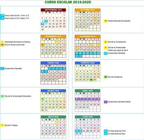 calendario escolar de cordoba del curso noticias local