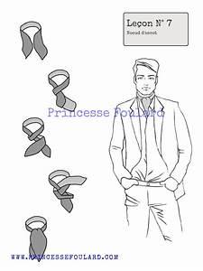 Comment Mettre Une Cravate : comment nouer mettre foulard ascot faire un n ud de ~ Nature-et-papiers.com Idées de Décoration