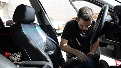 Upholstery On Cars by How To Clean Condition Leather Seats Chemical Guys