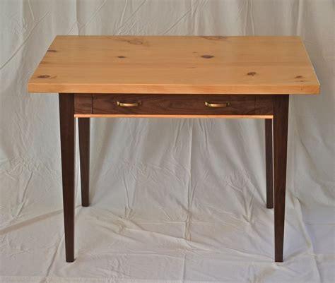 hand  writing desk  black walnut  knotty pine