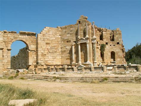 Sergej Marsnjak - Libya (West) - Leptis Magna - Nymphaeum