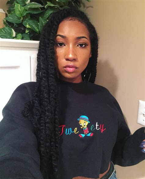 Hairstyles With Marley Twists by Twists With Marley Hair Hair Marley Hair