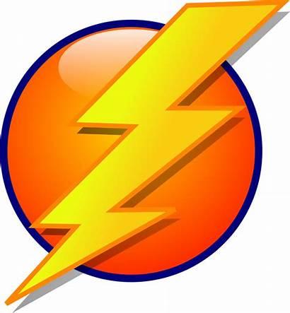 Lightning Icon Bolt Cartoon Clip