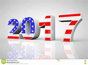 Usa Günstig Einkaufen 2017 : new year 2017 sign as usa flag 3d rendering stock ~ A.2002-acura-tl-radio.info Haus und Dekorationen