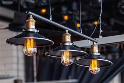 Industrial Fixtures Lamps Edison Bokeh Lampen Zwarte