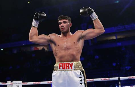 tommy fury reacts  anthony joshuas defeat  andy