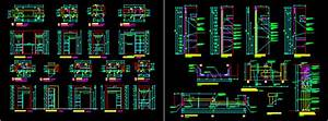 Closet Details and Dimensions 2D DWG Detail for AutoCAD