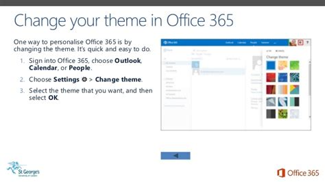 Office 365 Mail Themes by Sgul Office 365 Email Calendar On The Go Adapted From