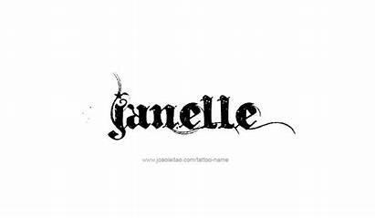 Janelle Tattoo Designs