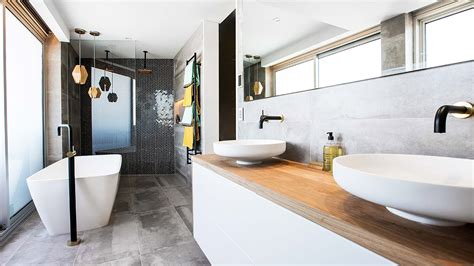 block winners dean  shay share top bathroom design tips