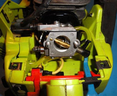 poulan  chain   fuel lines    replaced