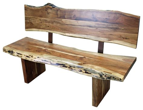 bench with back home wood furniture western wood bench with back rustic indoor benches Rustic