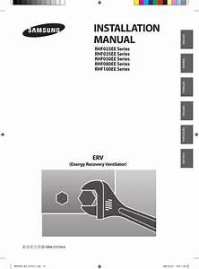 Samsung Rhf100ee Installation Manual