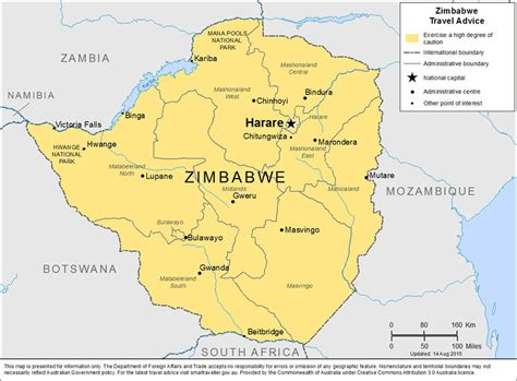 zimbabwe maps
