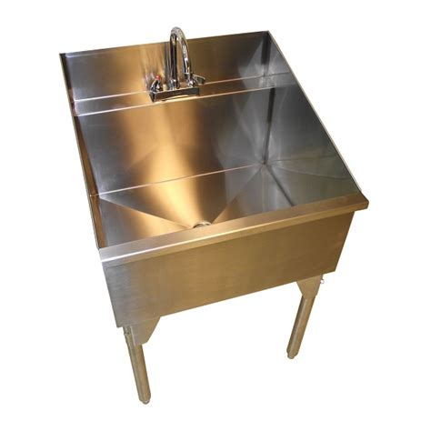 stainless steel sink with legs ridalco store laundry sinks